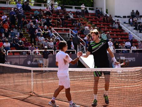 Un errático Jarry se despide ante Báez en semifinales del Challenger de Santiago 2
