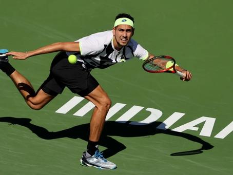Tabilo cae desplegando un buen tenis ante Berrettini en segunda ronda de Indian Wells