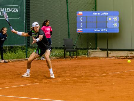 Nicolás Jarry debuta con el pie derecho en el Challenger de Luedenscheid