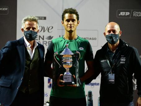Juan Pablo Varillas se corona campeón en el Challenger de Santiago 2