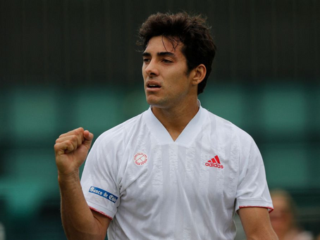 Garin vence a Martínez y se cita con Djokovic en Octavos de Final de Wimbledon