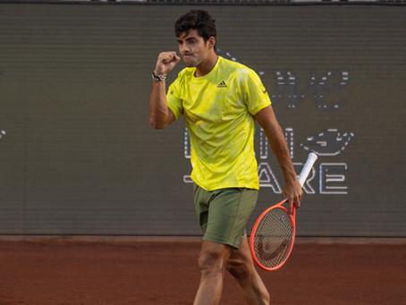 Garin cortó la racha de victorias de Tabilo, ganó el duelo y pasó a cuartos del Chile Open