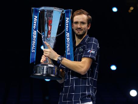 Daniil Medvedev se consagra como el maestro de las Nitto ATP Finals 2020