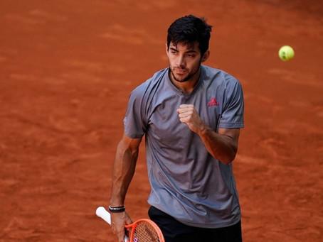 Garin brilla en Madrid y es cuartofinalista tras derrotar a Daniil Medvedev