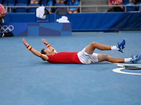Un bronce que vale oro: Pablo Carreño deja sin podio en singles a Djokovic
