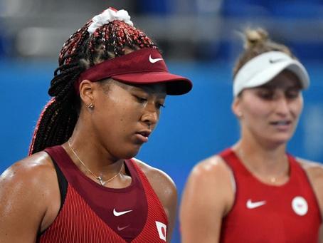 Osaka se queda sin medalla: Solo una campeona de Grand Slam permanece en el singles femenino