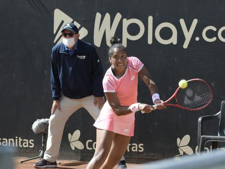 Salvó tres match points pero no le alcanzó: Seguel se despide del WTA 250 de Bogotá
