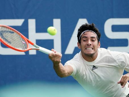 """Garin tras su estreno en el US Open: """"Tengo que seguir mejorando si quiero seguir avanzando"""""""