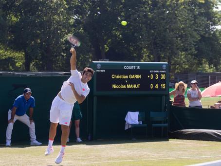 El Rey de Roehampton: Las dos exitosas Qualies de Garin en Wimbledon