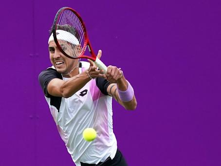 Impecable: Tabilo no pasa zozobras en su debut en la Qualy de Wimbledon
