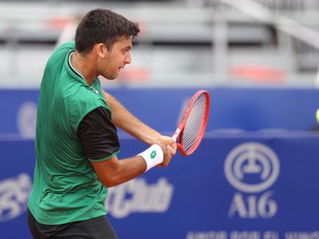 Tomás Barrios queda a un paso de clasificar al ATP 250 de Córdoba
