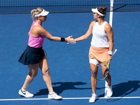 Guarachi y Krawczyk lucharon, pero quedaron eliminadas en semifinales del US Open