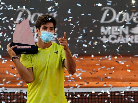 """Garin se coronó en casa con su quinto título ATP: """"Siempre fue un sueño para mí ganar aquí en Chile"""""""