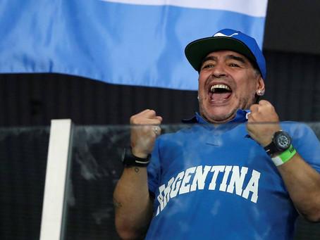 El hincha número Diez: Las historias de Diego Maradona con la Copa Davis