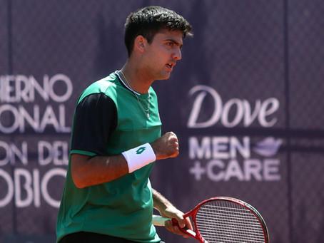 Tomás Barrios se impone en su estreno en la Qualy del ATP de Córdoba