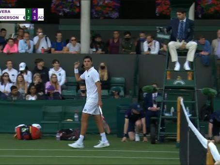 """""""Como si fuera fácil devolverle"""" - El enojo de Barrios contra el árbitro en Wimbledon"""
