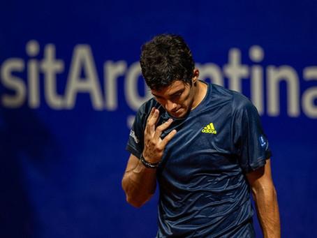 Garin sufre con su servicio y es eliminado en el estreno del ATP de Buenos Aires