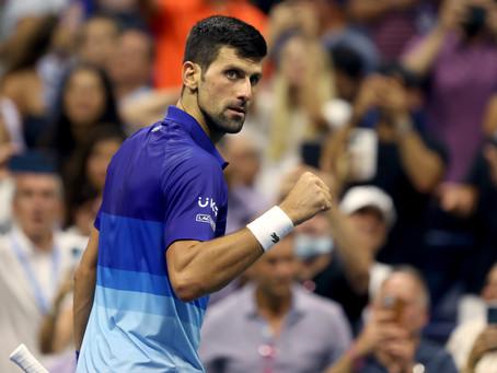 Djokovic permanece imparable y avanza a las semifinales del US Open 2021