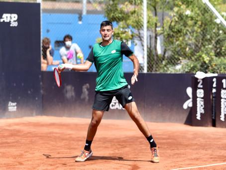 Tomás Barrios accede a su segunda semifinal Challenger en Santiago