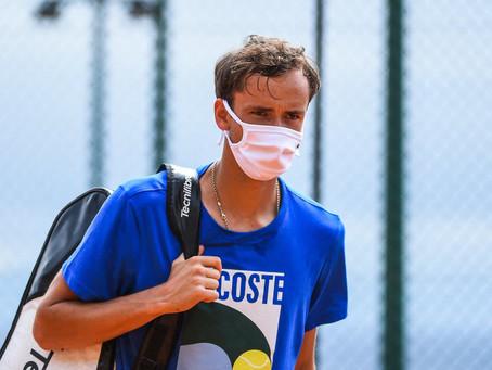 Daniil Medvedev da positivo por COVID-19 y se pierde el Masters 1000 de Monte Carlo