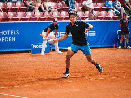 Garin debuta con éxito y avanza a Cuartos de Final del ATP 250 de Bastad