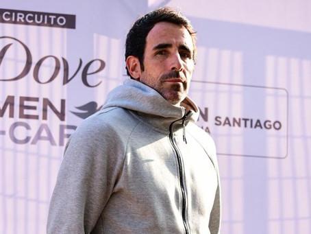 """Juan Ozón, coach de Nicolás Jarry: """"He estado totalmente motivado para empezar el proyecto con él"""""""