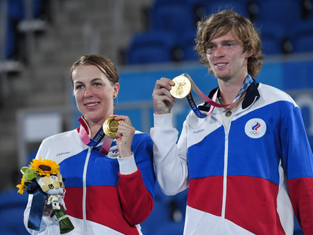 Triunfa Rusia: Así quedó el medallero del tenis olímpico en Tokio 2020