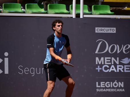 Juan Manuel Cerúndolo queda a un paso del Top 100 con su pase a Cuartos en Santiago 3