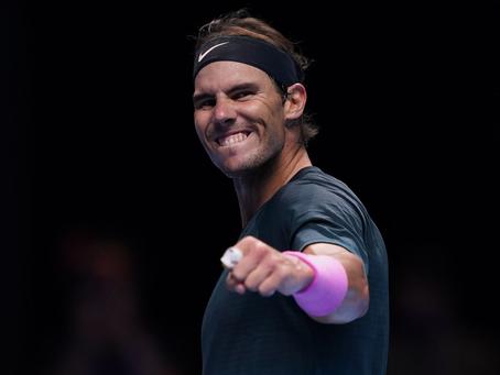 Grupo Londres 2020: Rublev se despide con victoria; Rafael Nadal elimina al campeón defensor
