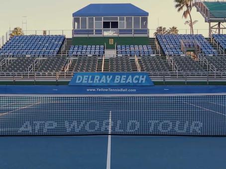 Primer torneo listo: ATP de Delray Beach abrirá la temporada 2021