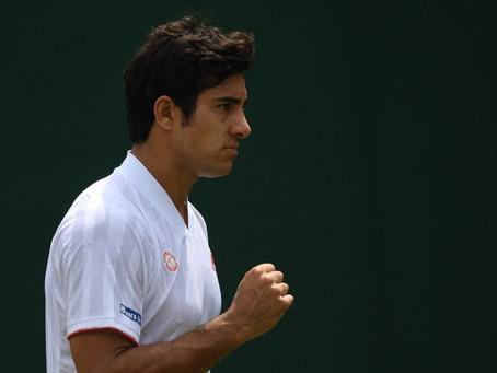 Primer chileno en diez años: Garin avanza a la tercera ronda de Wimbledon tras triunfo sobe Polmans
