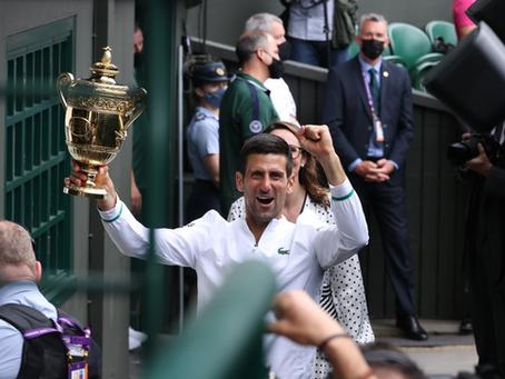 Nole por veinte: Djokovic alcanza el récord de títulos de Grand Slam con su tercer Wimbledon seguido
