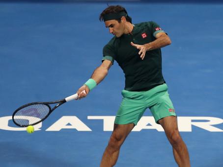 ¡Regresó y de qué manera! Federer venció a Evans en su regreso al circuito en el ATP 250 de Doha
