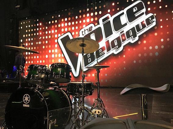 Backline The Voice Belgique