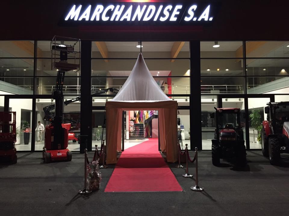 Inauguration bâtiment Marchandise SA