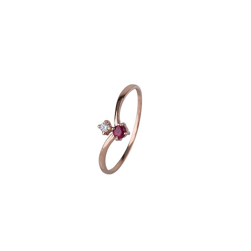 Galaxy Star Diamond Ring