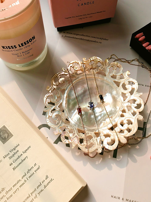 Viva Glam Diamond Necklace