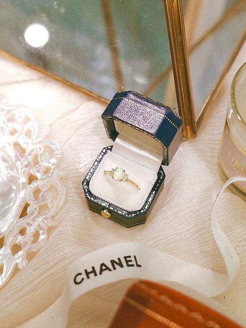 Opal Lover Diamond Ring