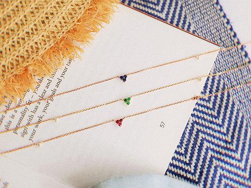 Luminous Diamond Necklace
