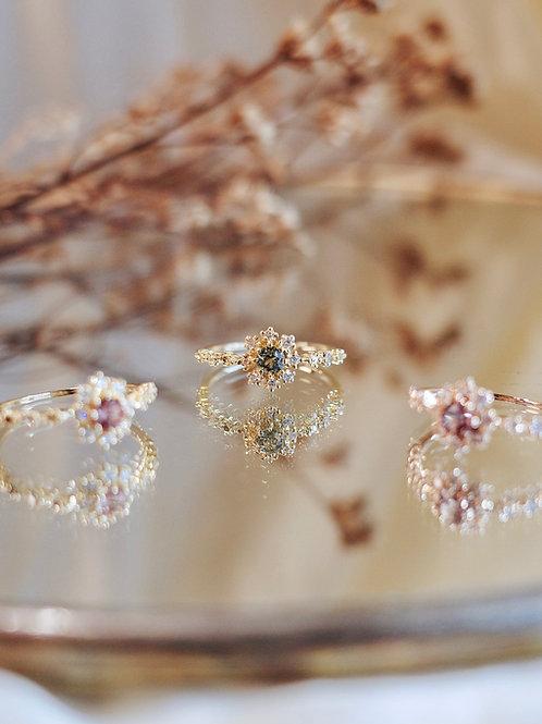 Let It Snow Diamond Ring