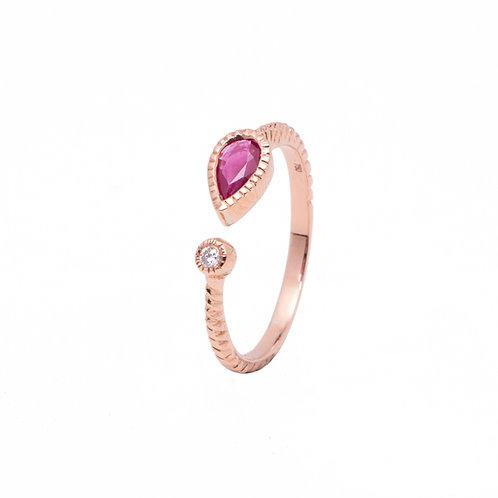 Rose of Sharon Diamond Ring
