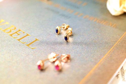 Mauve Haze Earrings