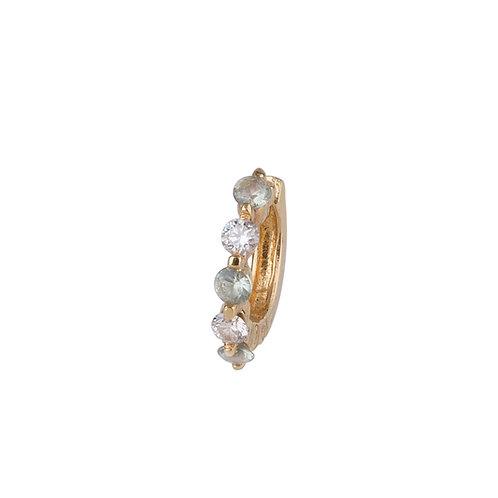 Hellebores Diamond Earrings