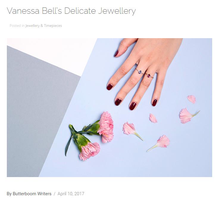 Vanessa Bell's Delicate Jewellery