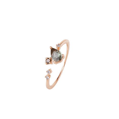 Mint Sky Diamond Ring