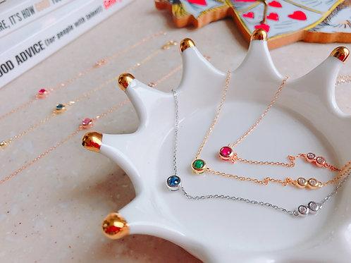 Classic romance necklaces