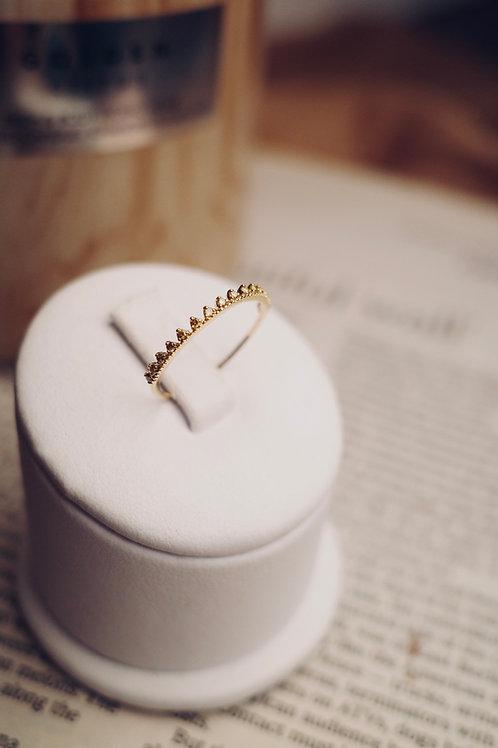 Little Blooms Yellow Diamond Ring