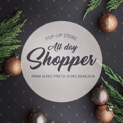 All Day Shopper Pop Up store