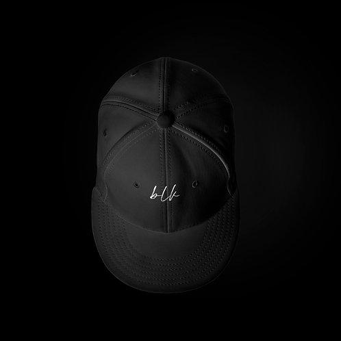 """blk"" Unisex Flat Bill Hat"