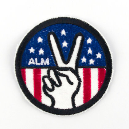 "No70 ALM Patch ""Peace Sign"""